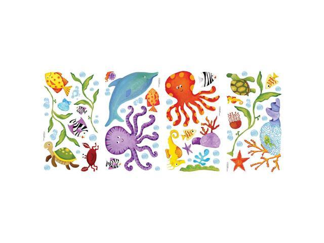 RoomMates Peel and Stick Wall Decals - Adventures Under the Sea