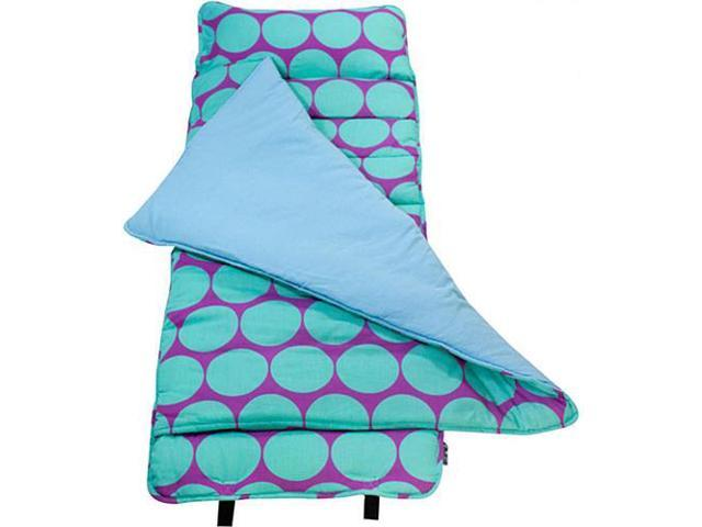 Wildkin Nap Mat - Aqua Big Dots