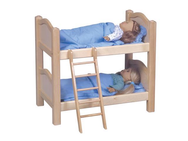 Guidecraft Doll Bunk Bed Natural, Natural - G98116