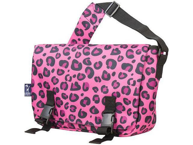 Wildkin Jumpstart Messenger Bag - Pink Leopard
