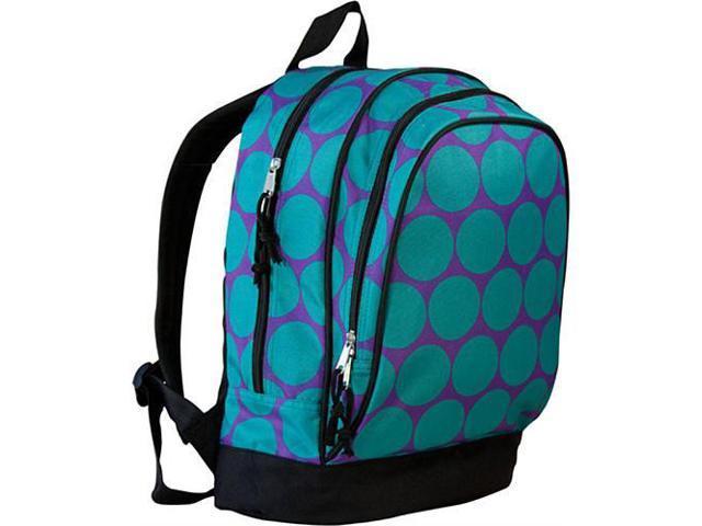 Wildkin Sidekick Backpack - Aqua Big Dots
