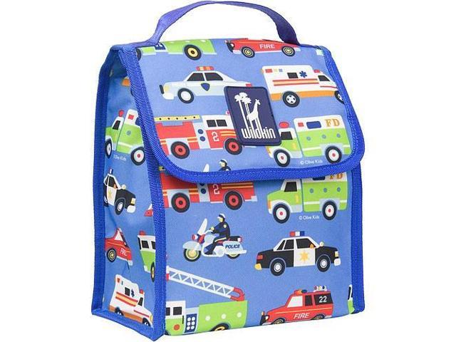 Wildkin Munch 'n Lunch Bag - Olive Kids Heroes