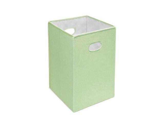 Badger Basket Folding Hamper/Storage Bin - Sage - 00202