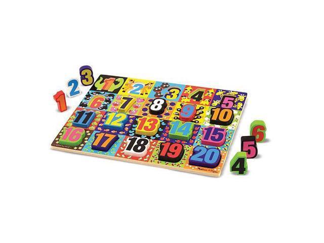 Melissa & Doug Jumbo Number Chunky Puzzle