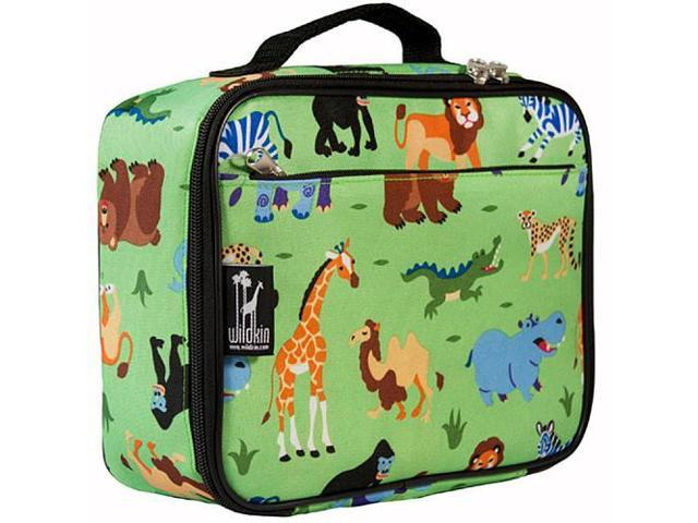 Wildkin Lunch Box - Olive Kids Wild Animals