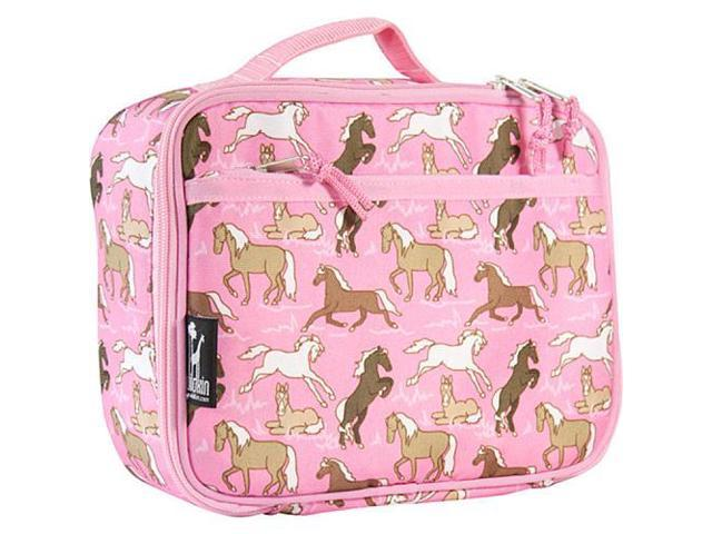 Wildkin Lunch Box - Horses in Pink