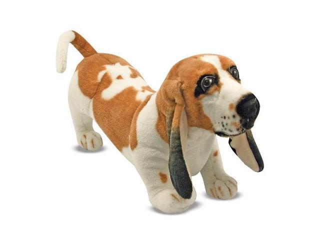 Melissa & Doug Lifelike and Lovable Plush Basset Hound