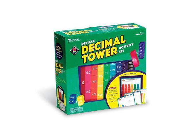51-Piece Deluxe Decimal Tower Activity Set