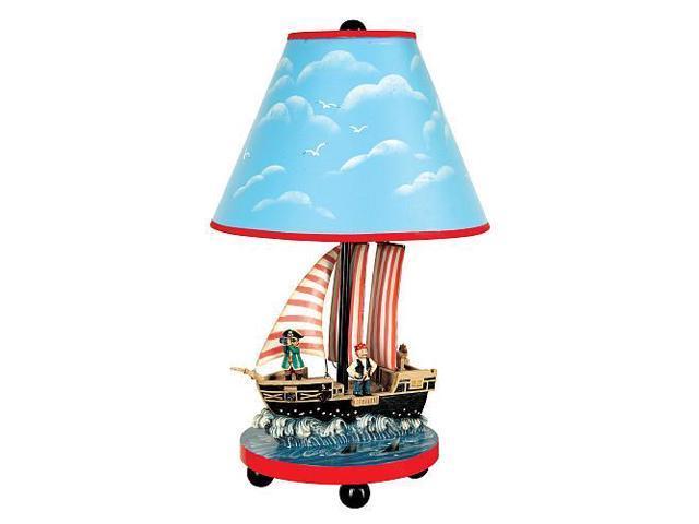 Guidecraft Pirate Table Lamp, Multi - G83707