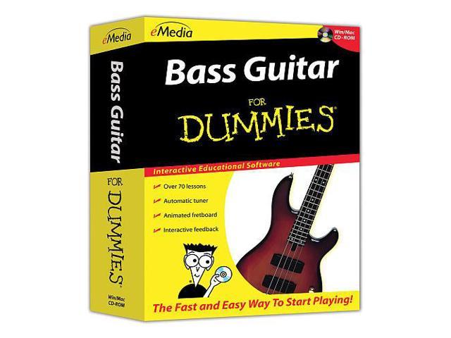 Bass Guitar For Dummies for PC and Mac