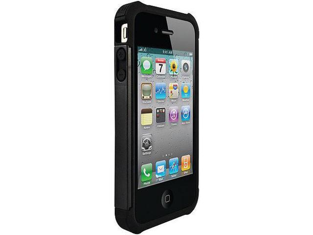 Shell Gel Case for iPhone 4 - Black
