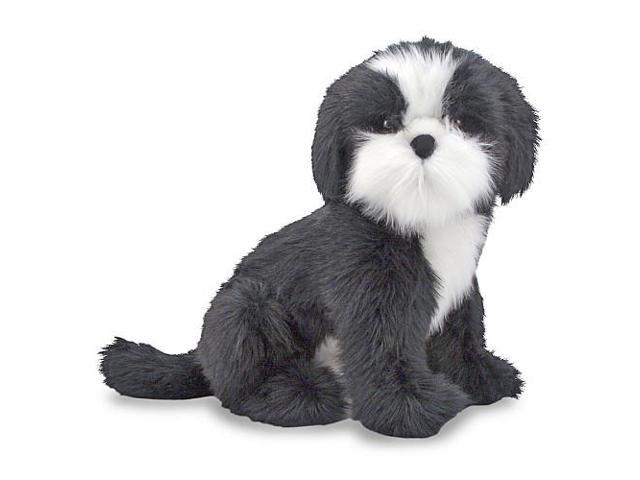 Melissa & Doug Lifesized and Lovable Plush Shih Tzu