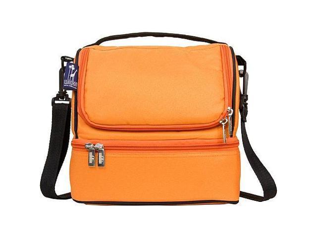 Wildkin Double Decker Lunch Bag - Bengal Orange