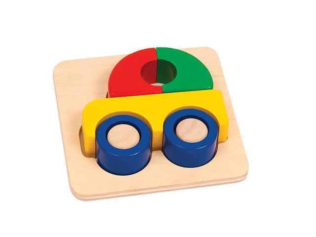 Guidecraft Primary Puzzle - Car, Multi - G2022