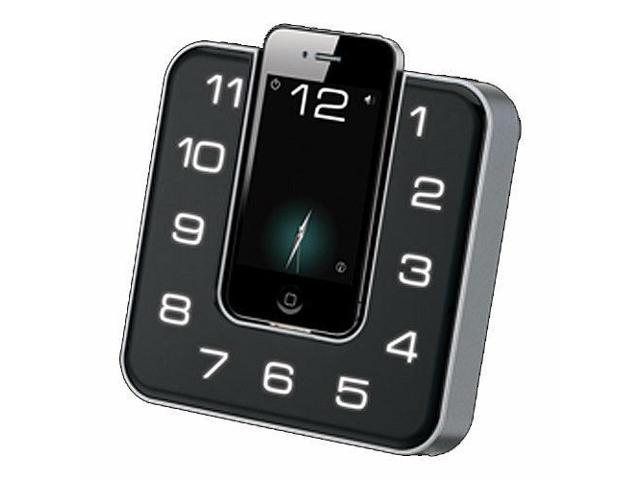 iLive App Enhanced Clock Radio Dock for iPod/iPhone #zMC