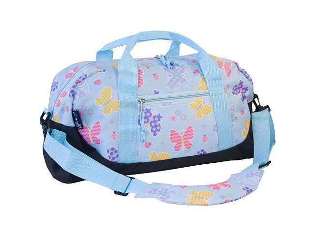 Wildkin Duffel Bag - Olive Kids Butterfly Garden