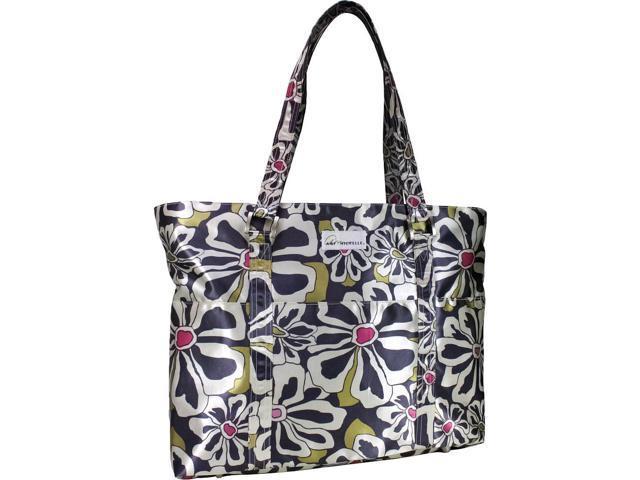 Amy Michelle Austin Diaper Bag - Charcoal Floral