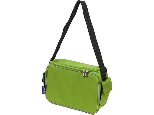 Wildkin Keep it Cooler Lunch Box - Parrot Green