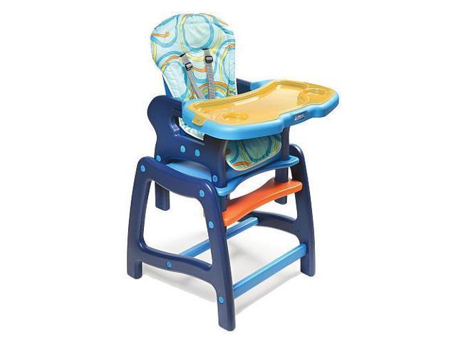 Badger Basket Envee High Chair with Playtable Conversion