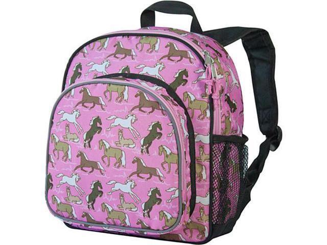 Wildkin Pack 'n Snack Backpack - Horses in Pink