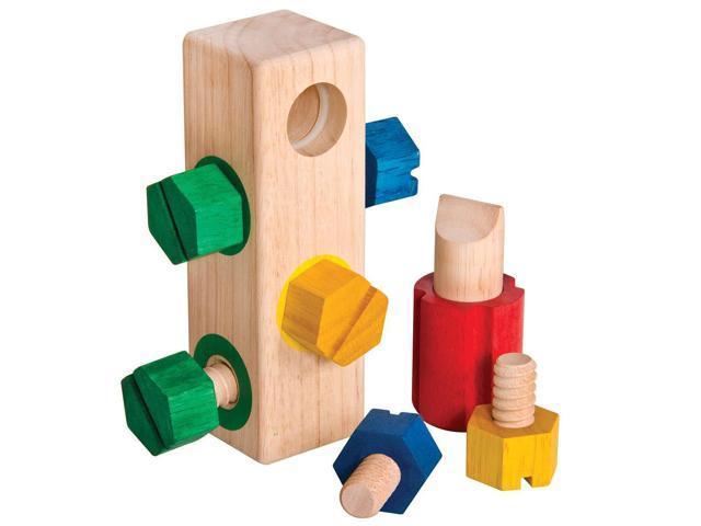 Guidecraft Screw Block, Multi - G2003