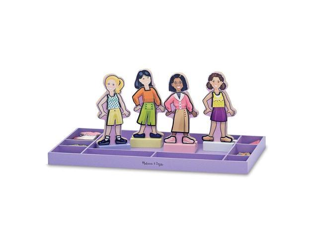 Melissa & Doug Best Friends Forever Magnet Dress Up Set