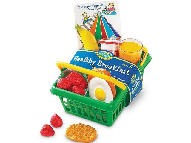 Pretend and Play Healthy Breakfast Set