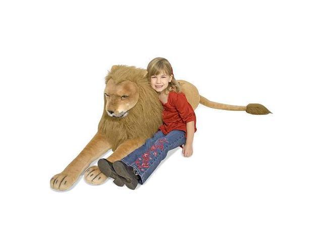 Melissa & Doug Deluxe Giant Lion