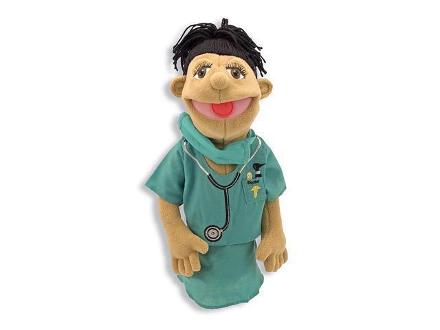 Melissa & Doug Deluxe Surgeon Hand Puppet