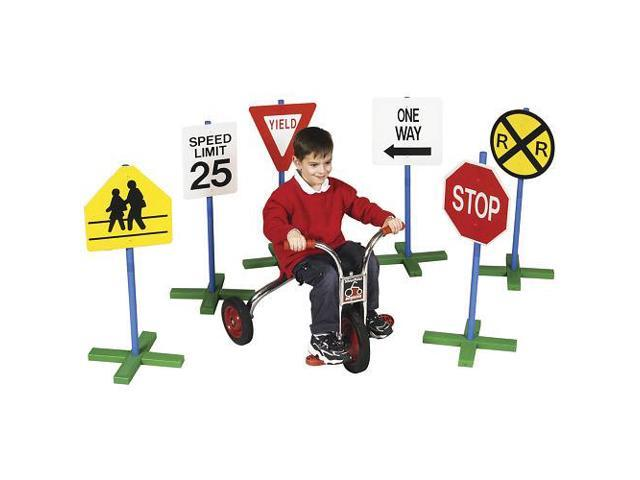 Guidecraft Drivetime Signs - Set of 6, Multi - G3060