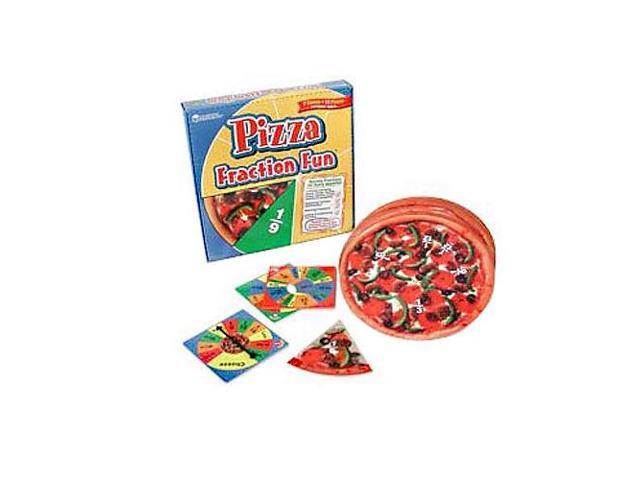 Pizza Fraction Fun Game 16Pcs 10-3/4