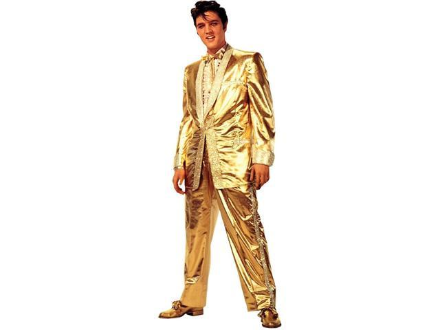 Elvis Presley Gold Lame Jacket Stand Up Poster