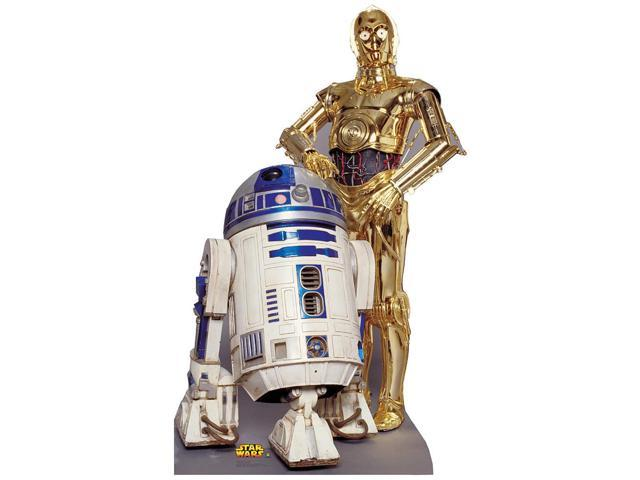 Star Wars R2-D2 & C-3PO Stand Up Poster
