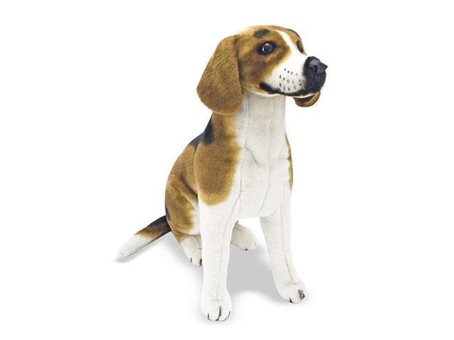 Melissa & Doug Lifesized and Lovable Plush Beagle