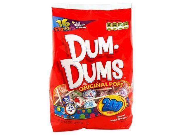 Dum Dums Original Pops - 200-Count