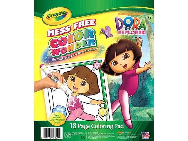 Color Wonder Coloring Pad-Dora The Explorer