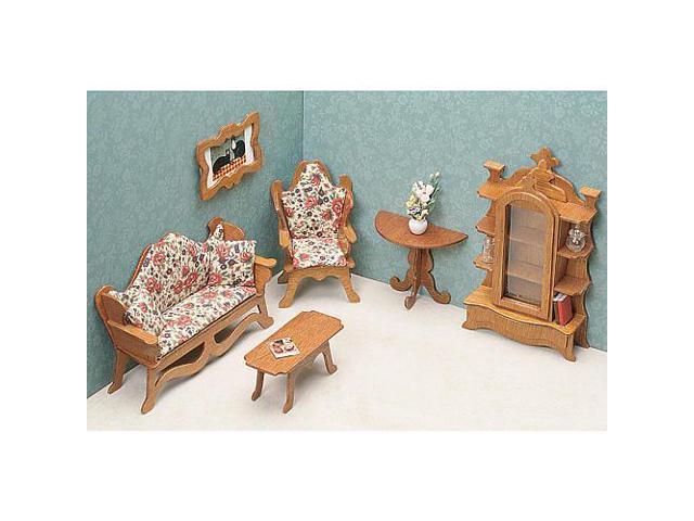 Dollhouse Furniture Kit - Living Room