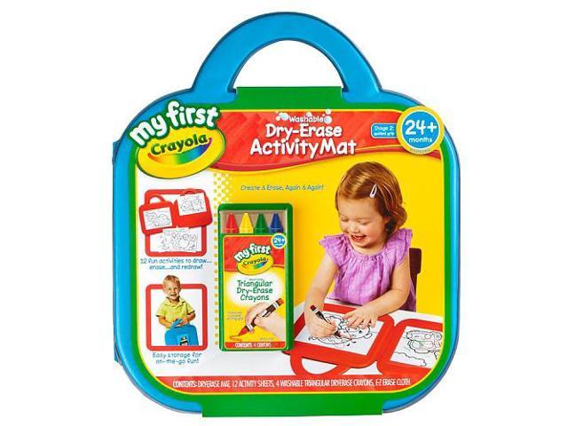 Crayola My First Washable Dry-Erase Activity Mat