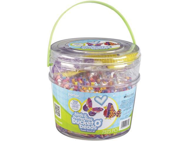 Perler Fun Fusion Fuse Bead Activity Bucket-Birds & Butterflies
