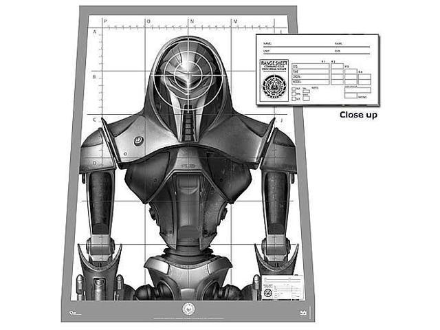 Battlestar Galactica Poster Replica - Cylon Centurion Target