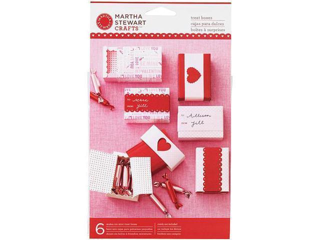 Martha Stewart Mini Match Box - 6-Pack - Valentine's Day