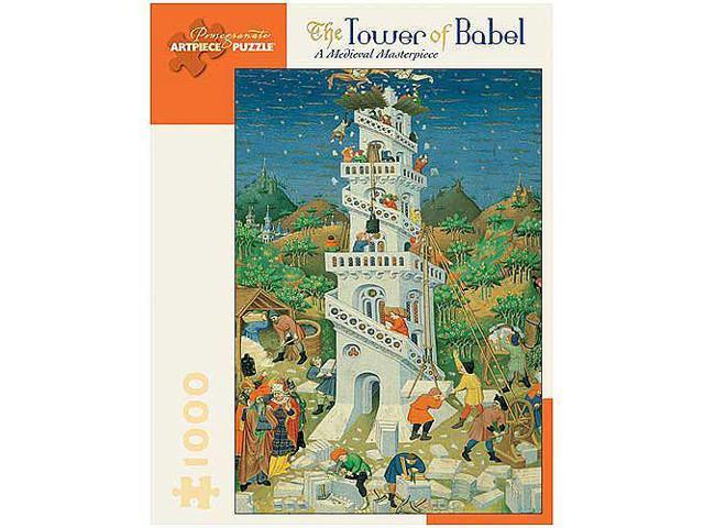 Tower of Babel Jigsaw Puzzle - 1000-Piece