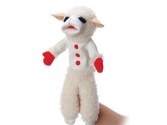 17-inch Talking Lamb Chop Puppet