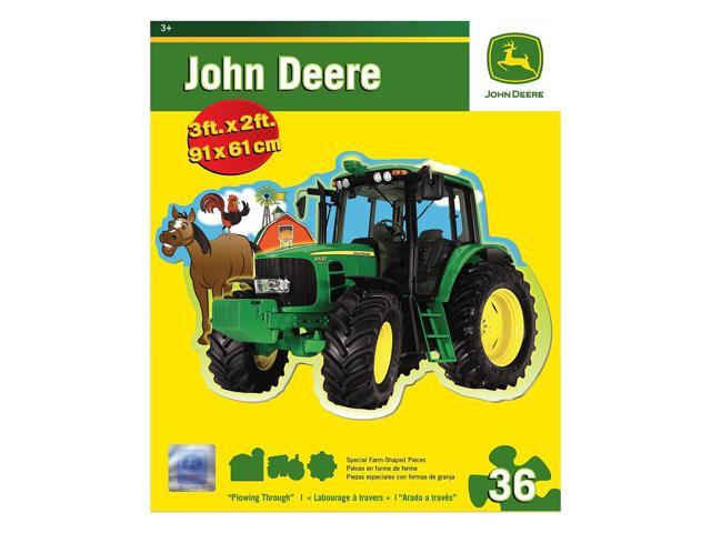 John Deere Plowing Through Floor Puzzle: 36 Pcs