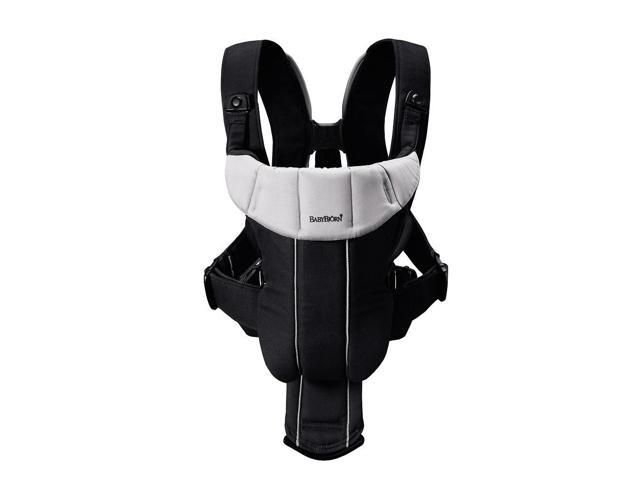 BabyBjorn Baby Carrier Active - Black/Silver