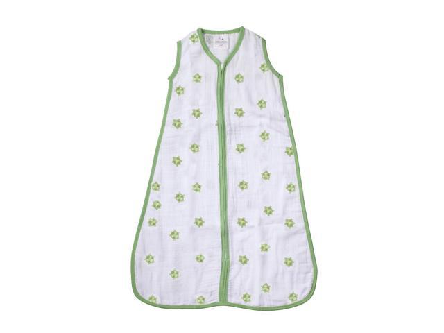 aden by aden anais Wearable Blanket - Life's a Hoot - Turtle - Small