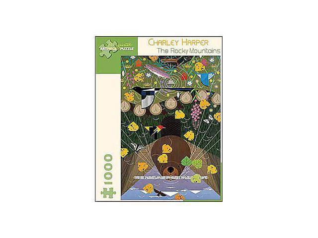Charley Harper Rocky Mountains Jigsaw Puzzle - 1000-Piece