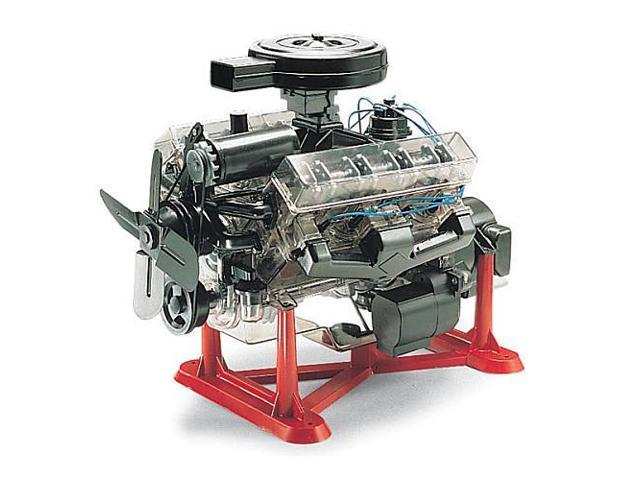 Rev8883 Visible V-8 Engine Model Kit R