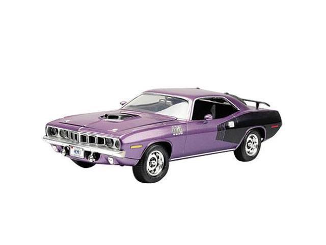 Rev2943 1971 Hemi Cuda Model Kit Revel