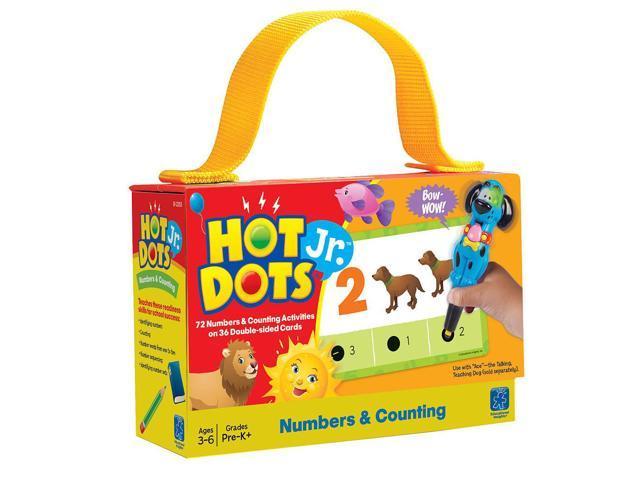 Hot DotsJr. Card Sets Numbers